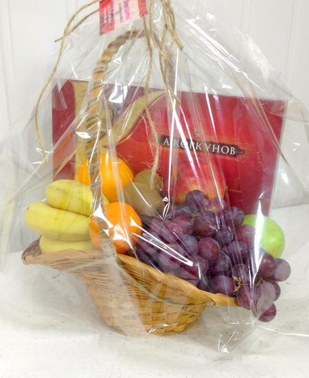 Как собрать фруктовую корзину в подарок 78
